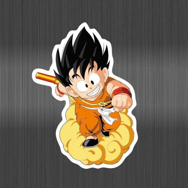 Anime Dragon Ball Stickers Super Saiyan Goku Stickers Decal For Snowboard Luggage Car Fridge Laptop Sticker