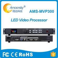 Scaler de procesador de vídeo mvp300, a todo color, compatible con 2 tarjetas de envío linsn para publicidad comercial, pantalla led