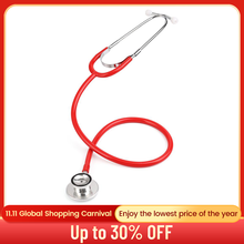 Professional Dual Head Stethoscope Medical Doctor Nurse Cardiology Stethoscope Medical Device Student Vet Medical Equipment