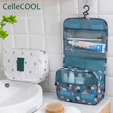 Waterproof High quality Women Men Hanging Cosmetic Bags Larg
