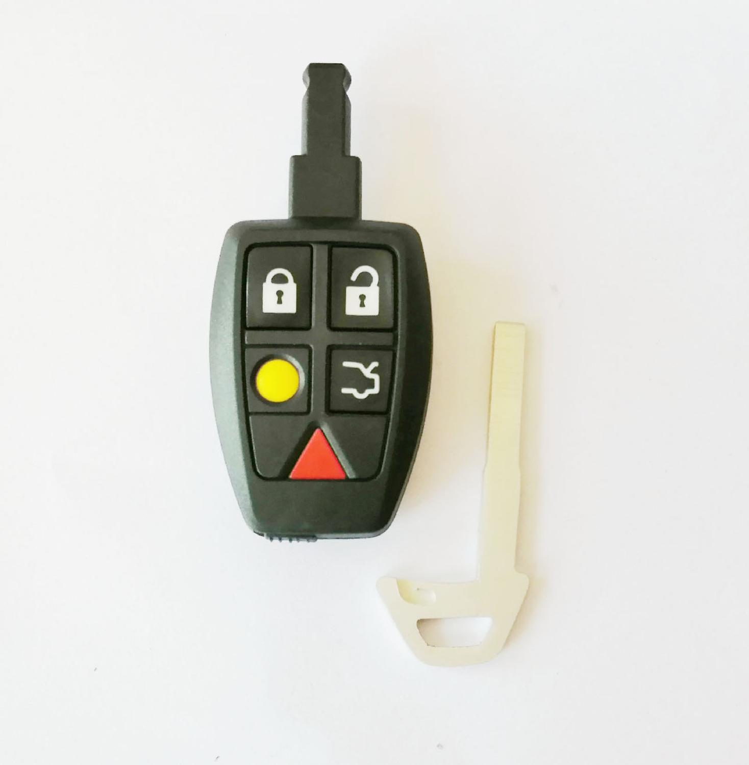 Smart Remote <font><b>Key</b></font> Shell for <font><b>Volvo</b></font> <font><b>S40</b></font> C30 C70 <font><b>Replacement</b></font> Car <font><b>Key</b></font> Blanks Case image