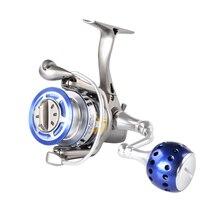 FISHING KING I Fishing reel spinning reels 1000 2000 3000 4000 6000 8000 5.1:1/5.0:1 Gear Ratio 6+1BB MAX DRAG 10kg Reel Fishing