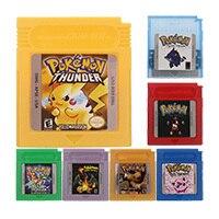 16 Bit Video Game Cartridge Console Poke Series English Language Version For Nintendo GBC