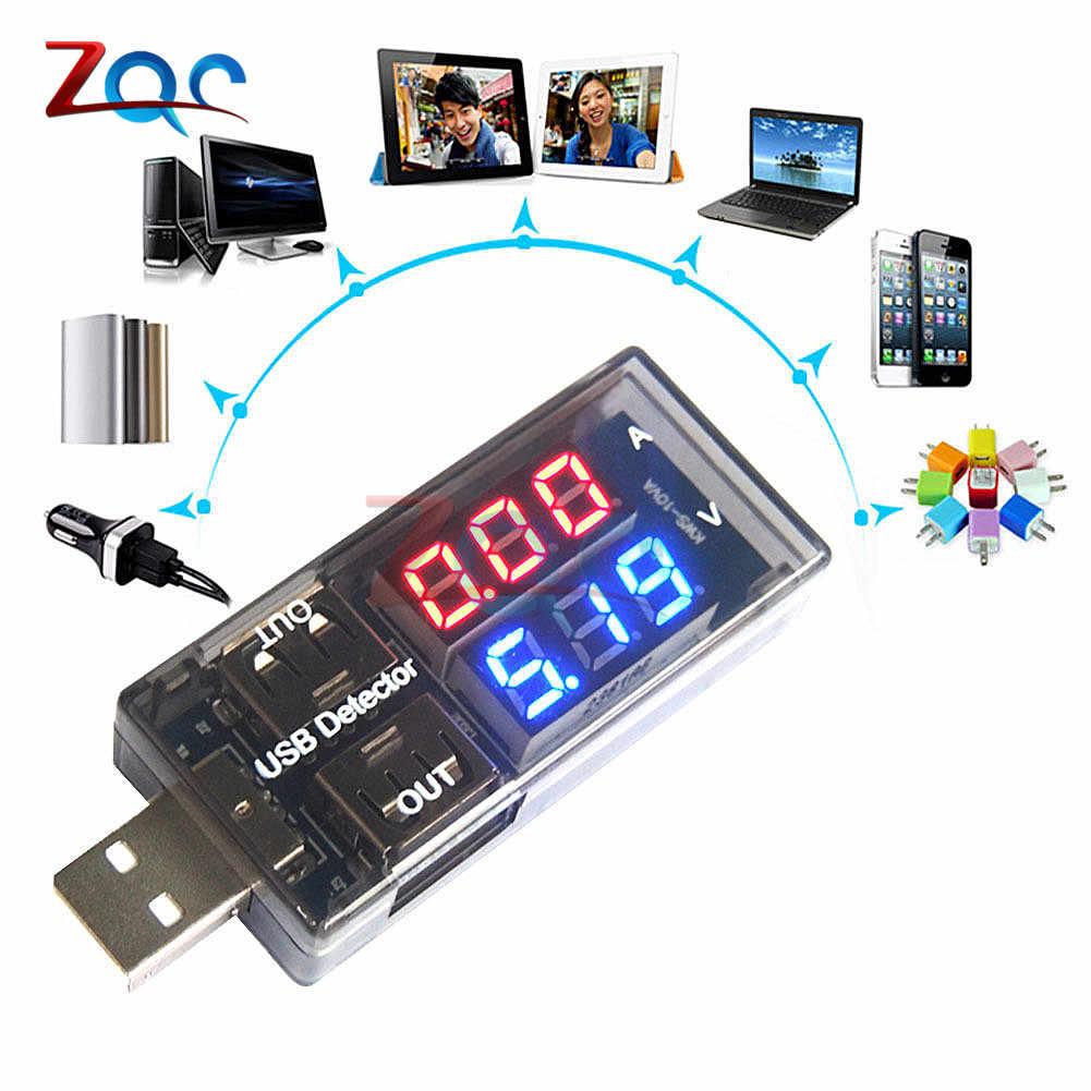 جهاز قياس الفولتميتر الرقمي بشاشة عرض مزدوجة ومقياس التيار الكهربائي للسيارة جهاز كشف التيار الكهربائي 5 فولت 12 فولت