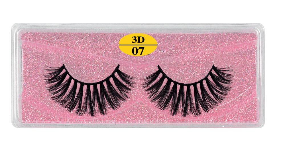 Hefeff395e38f4a84b33958265694460bE - MB Eyelashes Wholesale 40/50/100/200pcs 6D Mink Lashes Natural False Eyelashes Long Set faux cils Bulk Makeup wholesale lashes
