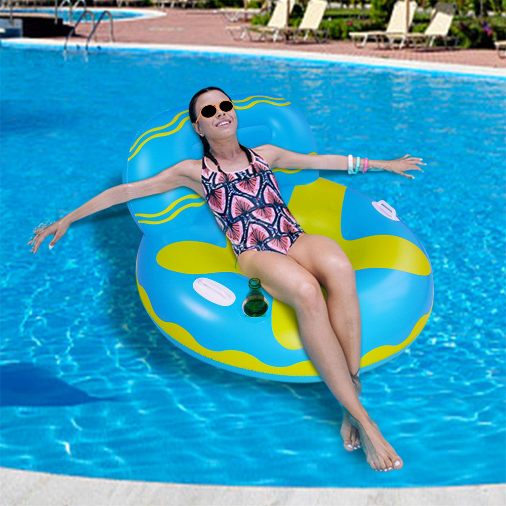 Inflatable Float Rafts Pool Party Swimming Bed Floatie Lounge Pool Loungers Piscina Piscina Infantil Colchoneta Piscina