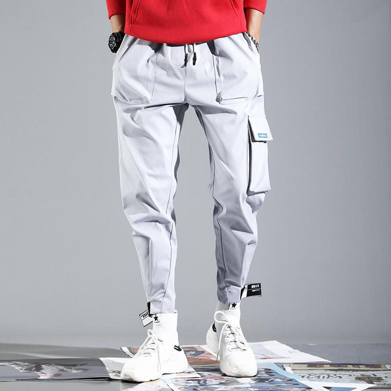 2019 Spring Summer New Style National Trends Bib Overall Men Korean-style Hip Hop Casual Pants Men's Velcro INS Pants