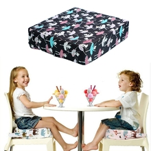 Kids Increased Chair Pad Removable Cushion Baby Anti-skid Dining Chair Thick Mat