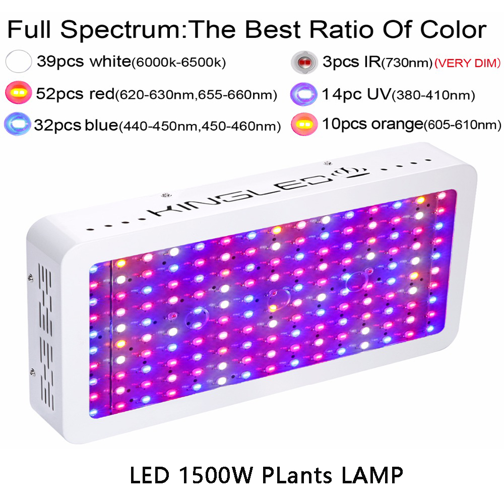 Image 3 - LED Plant Grow Light Full Spectrum 1200W 1500W 1800W 2000W Flower Lights Indoor Growing System Indoor Garden-in Growing Lamps from Lights & Lighting