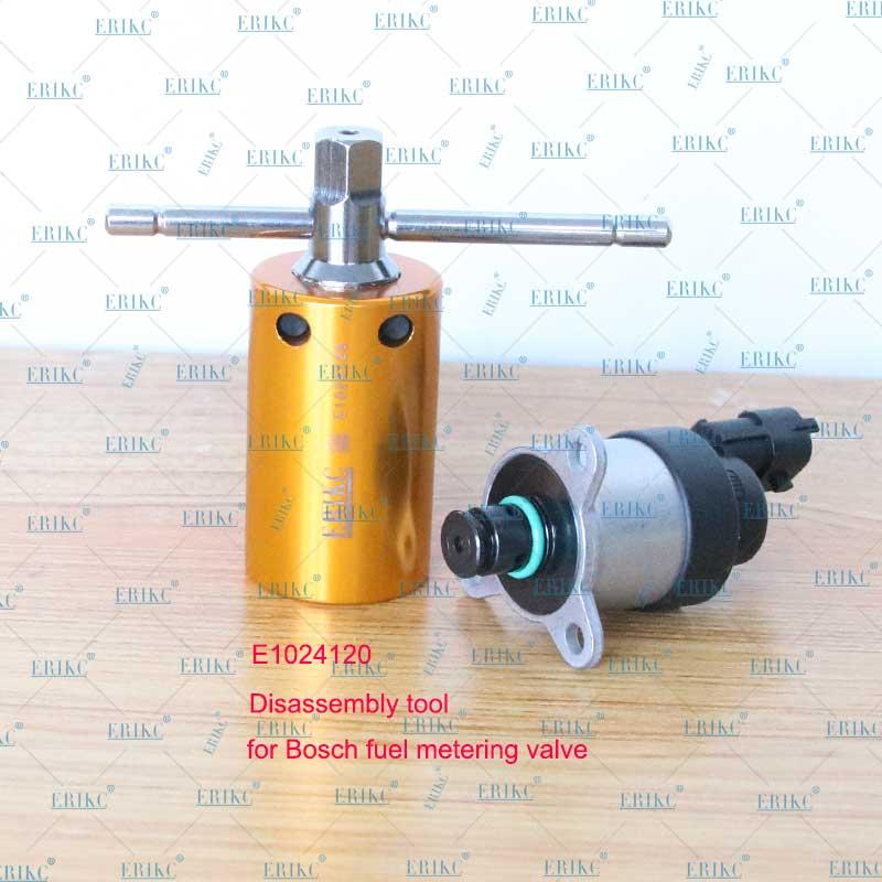 Herramienta de regulación de presión ERIKC para válvulas de medición de combustible SCV PVC PCV Rama, herramientas de desmontaje para BOSCH 617 y 818 DELPHI D