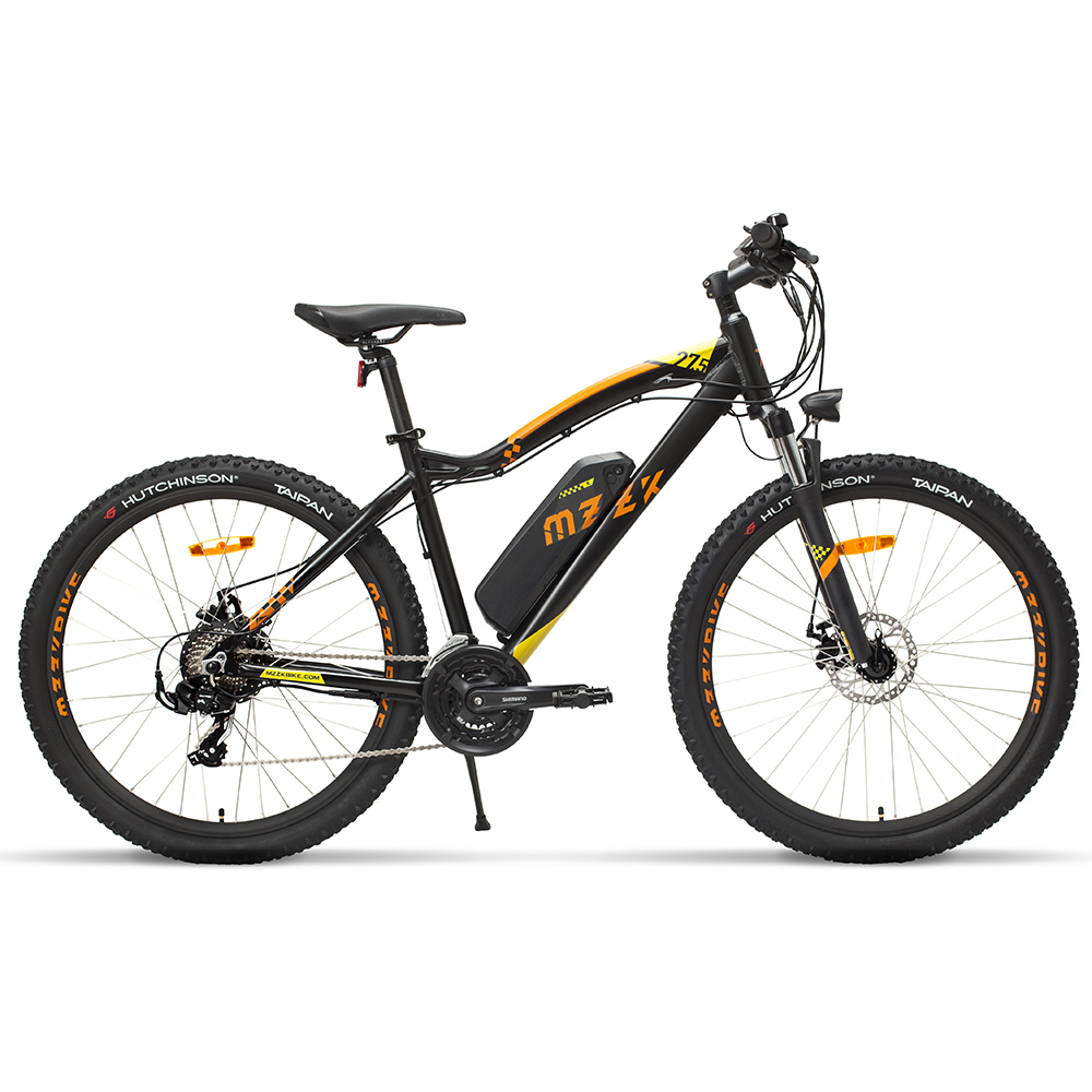 26 27 5inch electric mountian bicycle 400W high speed motor 48V lithium battery Electric mountain font