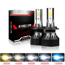 Muxall 12000LM Led Turbo H7 9006 HB4 9005 HB3 H8 H9 H11 H4 Auto Koplamp Auto Lamp Lampen 6000K mistlamp Lampada Hoge Dimlicht