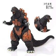 14Cm Godzilla Movie Monster Series Burning Godzilla Vinyl Figure Gift for Kids Action Figure
