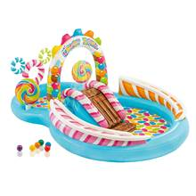 Pool Foldable Bathtub Inflatables Children for Collapsible Paddling Unique