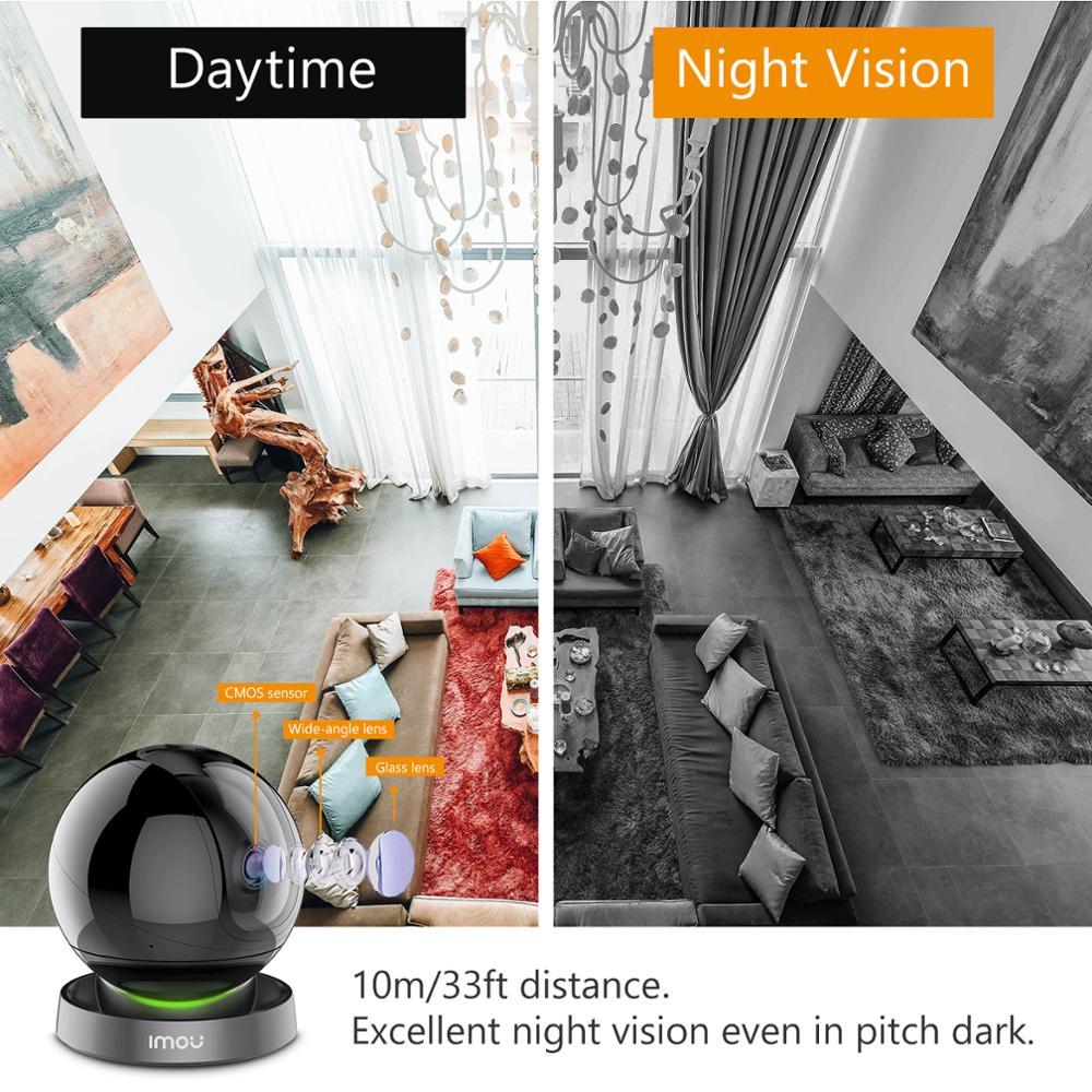 Dahua imou Ranger 2S 1080P Wifi IP Camera Home Security 360 Camera AI Human Detection Baby Phone Camera Night Vision ptz Camera 6