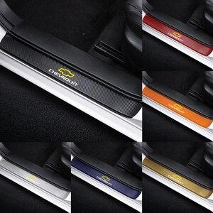 4 шт., 3D наклейки на порог двери для Chevrolet Cruze Lacetti Captiva SS Z71 Trax Sonic Spark Sail Aveo Malibu|Наклейки на автомобиль|   | АлиЭкспресс