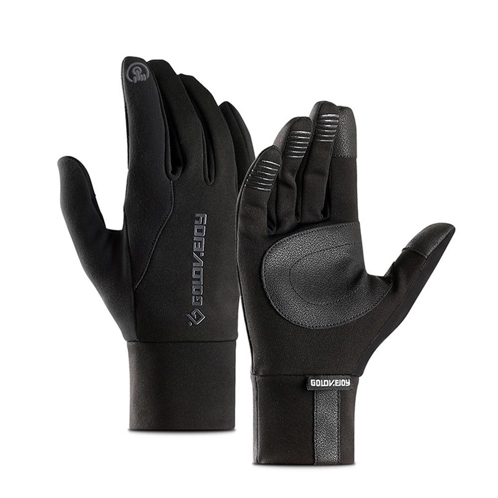 Full Finger Skiing Gloves Touch Screen Winter Warm Snowboard Gloves Men Women Anti-slip Waterproof Mountain Bike Sports Gloves