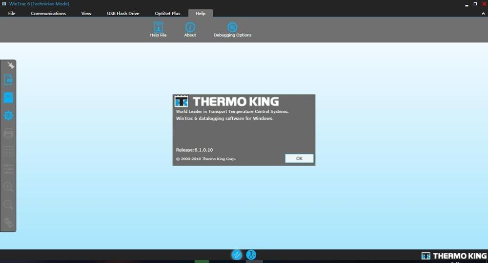 Thermo King Wintrac 63 엔지니어링 및 딜러 레벨