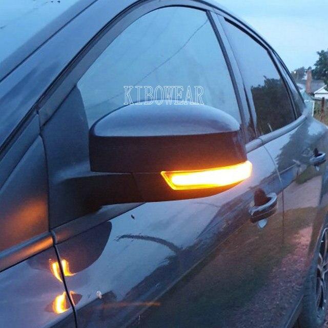 Năng Động Blinker Cho Xe Ford Focus MK3 Mondeo MK4 LED Nhan Gương Sáng 2011 2012 2014 2015 2016 2017 2018
