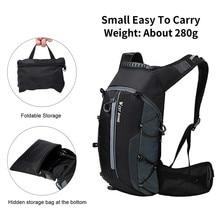 цена 10 L Sport Breathable Cycling Backpack Waterproof Bicycle Bag Outdoor Climbing Cycling Travel Hiking Backpack Accessories онлайн в 2017 году