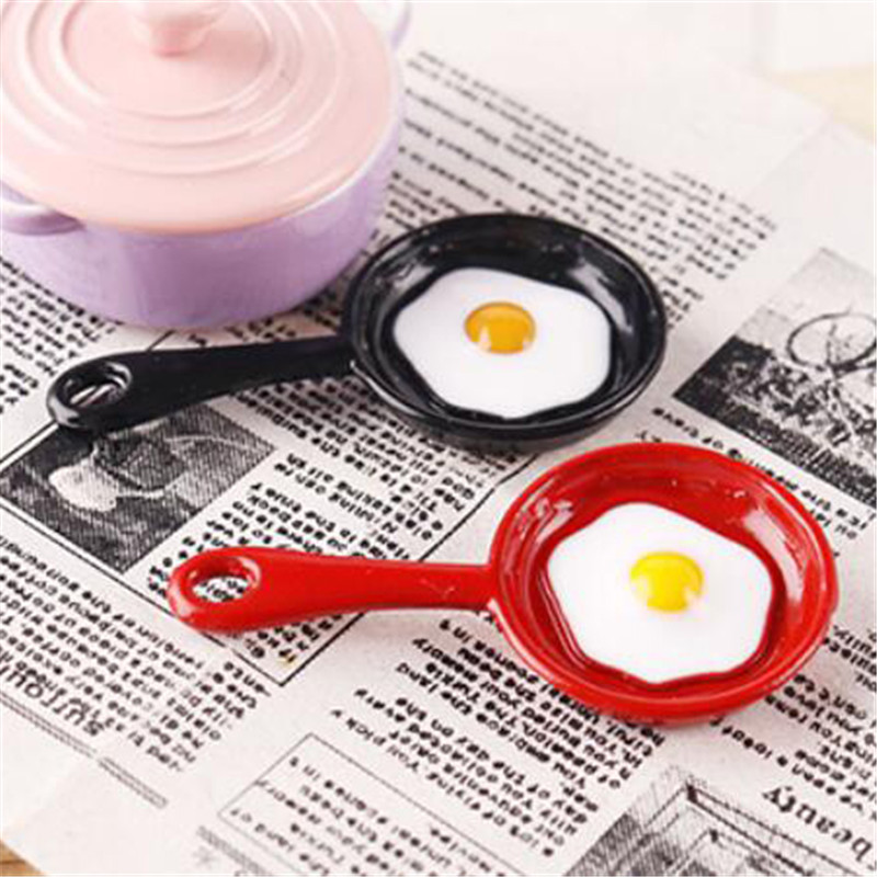 Pot Boiler Frying Pan Copper Pot Lid Doll House Accessories Dollhouse Miniature Kitchen Utensil Cooking Ware Play Kitchen Toy
