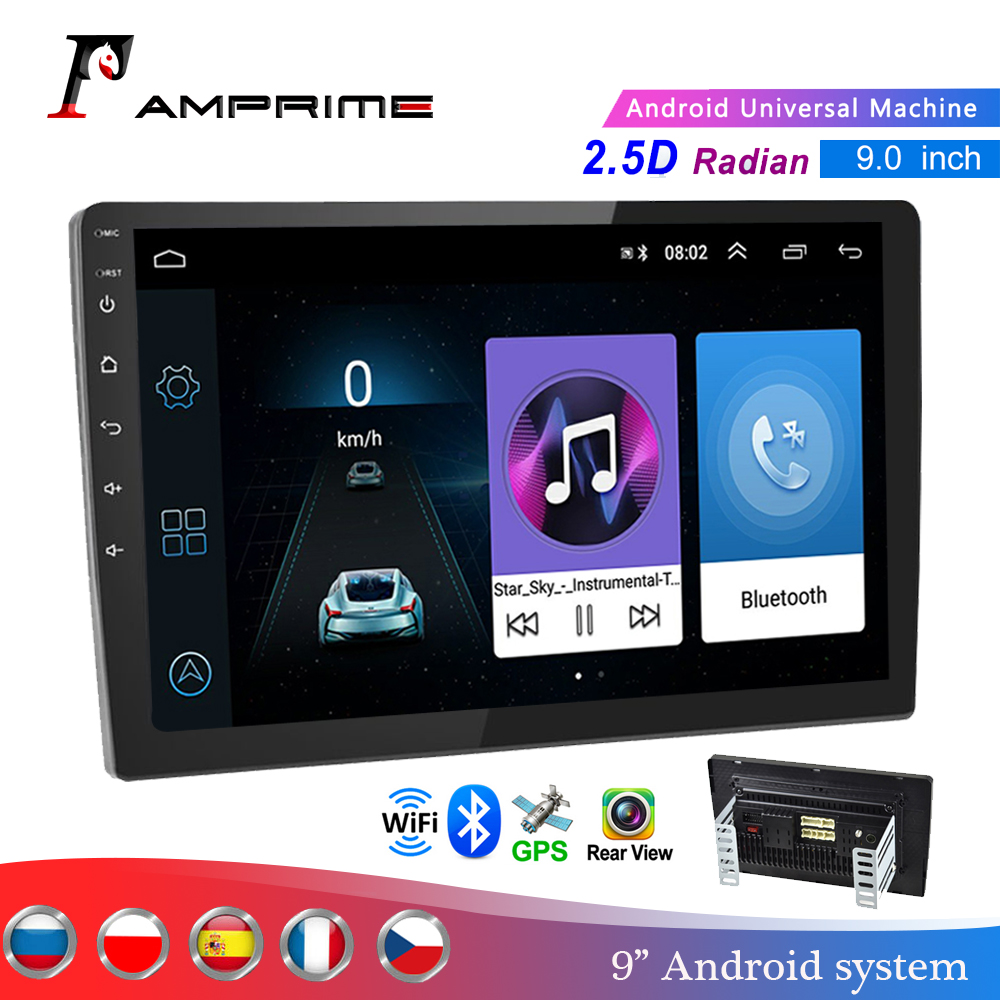 AMPrime 2din Car Radio 9