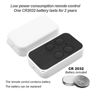 Image 3 - 433MHz clone remote control for 433.92 287 868mhz Garage door gate remote control rolling fixed code handheld transmitter