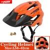 2019 corrida capacete de bicicleta com luz in-mold mtb estrada ciclismo capacete para homens mulheres ultraleve capacete esporte equipamentos de segurança 28
