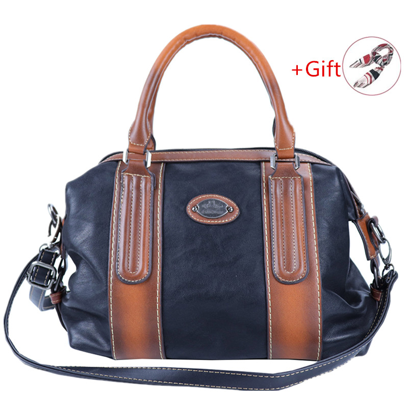 2019 New Fashion Genuine Leather Handbag For Women's Bag Large Capacity Shoulder Bag Luxury Designer Crossbody Bags Ladies Totes