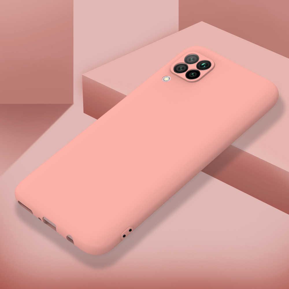 Silikon Matte Case untuk Huawei Nova 7i 4E 5 5i Pro 5Z 6 6SE Y5 Y6 Pro Y7 Y9 Perdana 2019 Y9A A5S Case Lembut Dilengkapi Back Cover Coque
