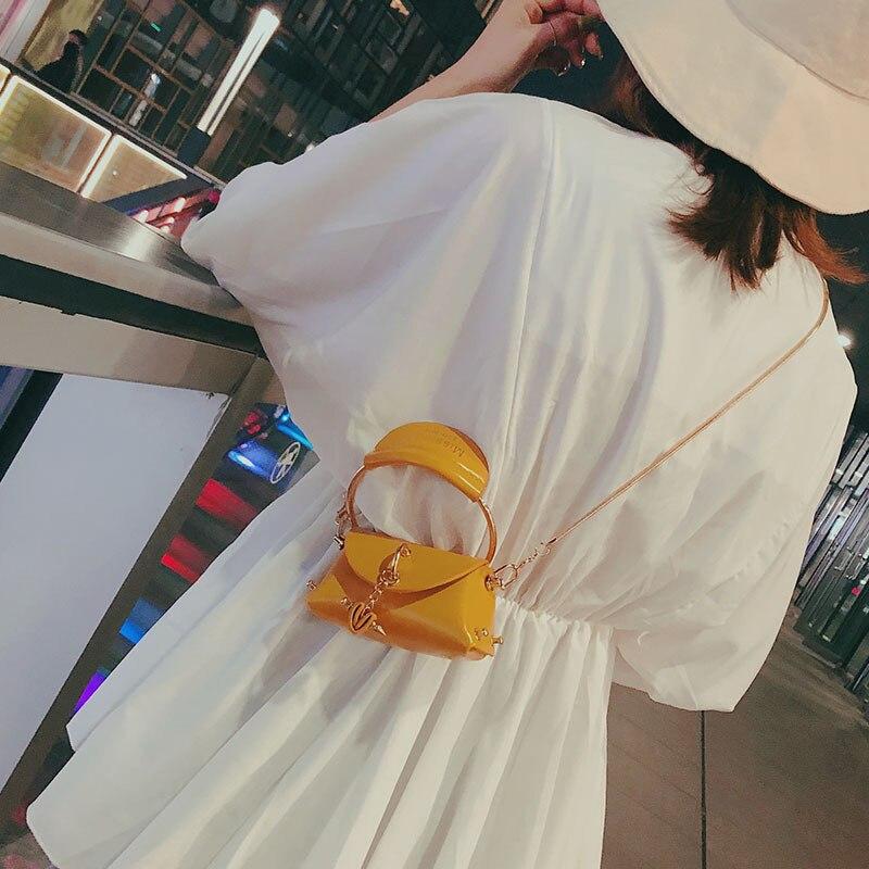 2020 New Shoulder Mini Bag Women's Handbags Quality PU Leather Trendy Simple Solid Color Personality Handbag Messenger Bags