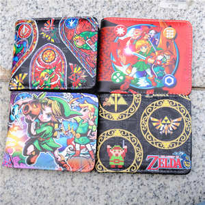 Wallet Purse Bag-Holder Game-Link Coin 4style Hot Layer Majora-Mask Hylian-Shield Slate