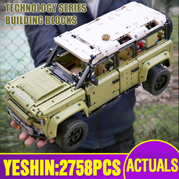 Technic Car Model Compatible With Lepining 42110 Land Car Rover Set Building Blocks Bricks Assembly Kids Christmas Toys Gift