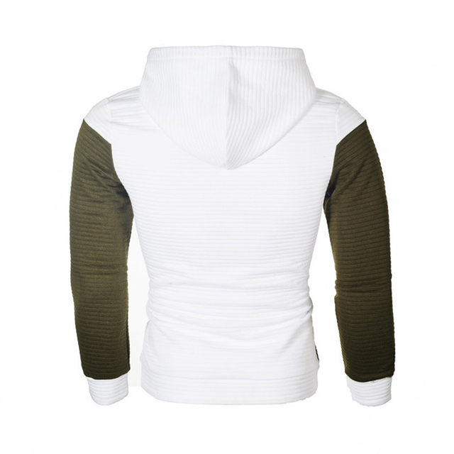 IceLion 2019 Autumn Hoodies Men Sweatshirt Patchwork Slim Fit Cotton Sportswear Fashion Tracksuit Hip Hop Streetwear Pullover 2