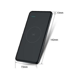 Image 4 - Wireless Accumulatori e caricabatterie di riserva per Xiao mi mi 10000 mAh Qi Fast Charger 10000 mAh Powerbank batteria Esterna Per Il iPhone X Xs MAX Samsung