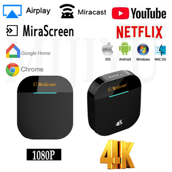 G5 TV Stick 4k Video WiFi Display Dongle HD Digital HDMI Media Video Streamer TV Dongle Receiver For YouTube Netflix Chromecast newest 2nd generation mirascreen digital hdmi media video streamer video resolution 1080p wifi display adapter