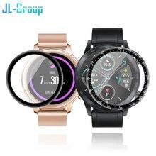 Huawei社腕時計gt 2 42ミリメートル46ミリメートルフィルムガラスgt 2e tpuスクリーンプロテクターGT2/GT2eフル湾曲したスクラッチプルーフ保護アクセサリー