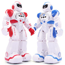 Mechanical War Police Early Education Robot Electric Singing Infrared Induction Children Remote Control Toy Intelligent Robot