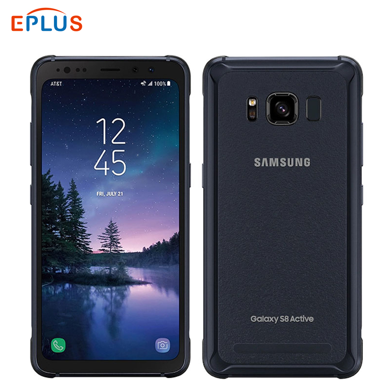 New AT&T Version Samsung Galaxy S8 Active G892A 4GB 64GB Mobile Phone Snapdragon 835 Octa Core 5.8