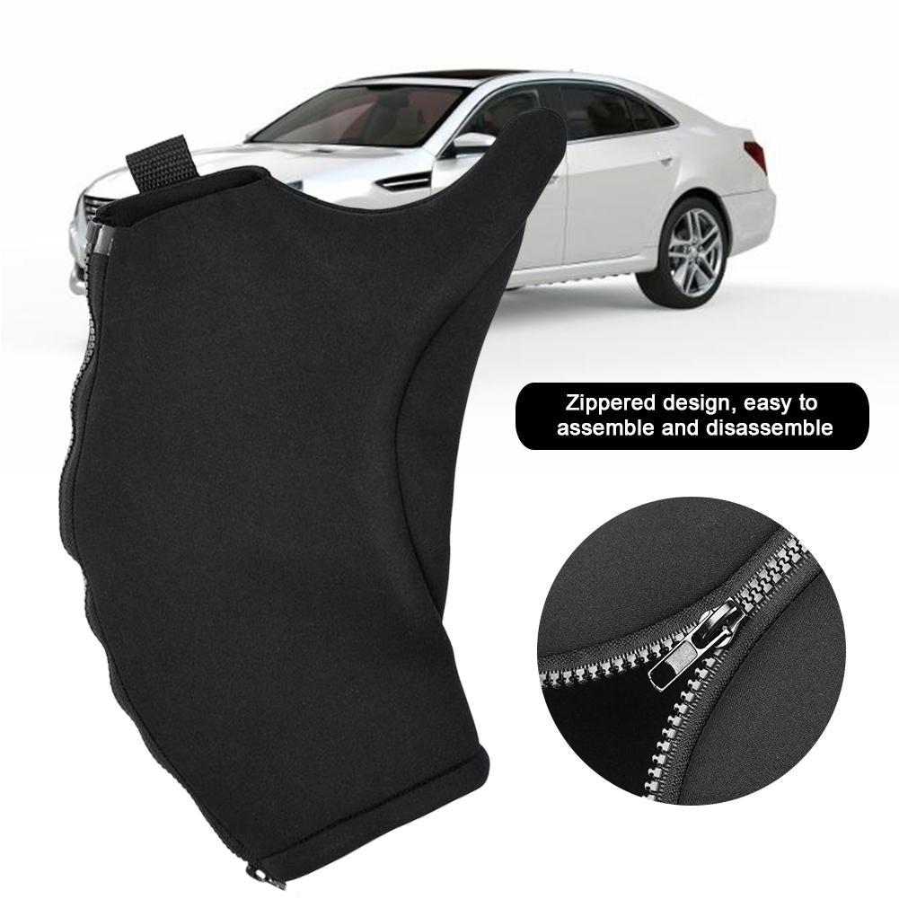 Lengthened Car Jack Base Cover SUV Jack Anti-collision Wear Set Black Waterproof Protective Cover Sunproof