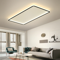 LED Ceiling Light Ultra-thin Modern Minimalist Panel Lamp Rectangular Square Ceiling Lamps Surface Mount for Living Room Kitchen