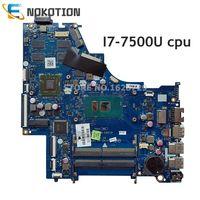 Nokotion 924759-601 924759-001 hp pavilion 15-bs 노트북 마더 보드 csl50 csl52 LA-E801P I7-7500U cpu 4 gb gpu