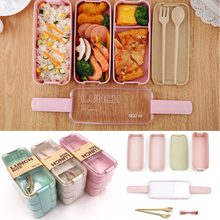 Box Bento-Container Lunch-Box Baby-Food-Storage Feeding Bpa-Free Kids Portable Stackable-Box