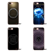 Stargate SG-1 Transparent Weiche Kasten-abdeckungen Für iPod Touch Apple iPhone 4 4S 5 5S SE 5C 6 6S 7 8 X XR XS Plus MAX(China)