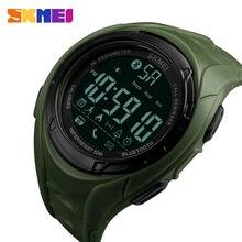 SKMEI Man Digital Smart Watch Pedometer Calories Camera Bluetooth Multifunction Wristwatches 5Bar Waterproof Fashion Clock 1316