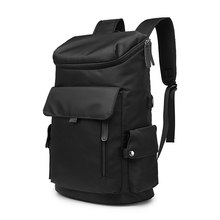 2021 New NANCY TINO Men's Computer Backpack USB Waterproof Middle-school Travel Luggage