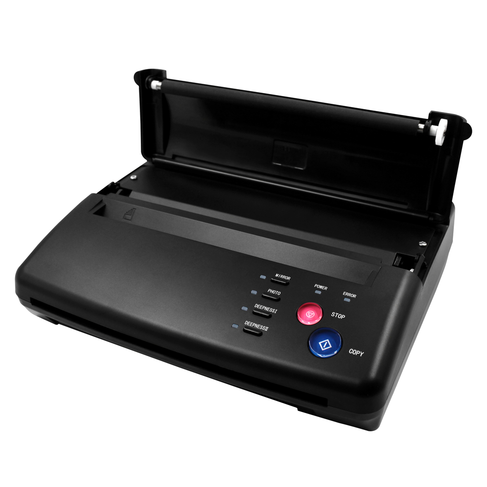 Ligther Tattoo Transfer Machine Tattoo Printer Photo Drawing Thermal Stencil Maker Copier for Tattoo Transfer Paper Supply