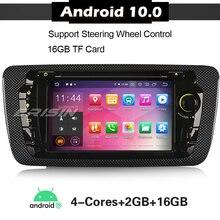 5122 Autoradio Radio samochodowe Stereo dla SEAT IBIZA 2009 2013 DAB + Radio Bluetooth GPS OBD DVD Android 10 SatNav jednostka główna