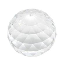 Wyczyść Cut Crystal Suncatcher Ball pryzmaty szklana kula Faceted patrząc Ball kryształy dla okno słońce łapacze 80mm 3 15In tanie tanio CN (pochodzenie)