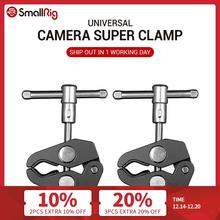 Super-Clamp Pliers-Clip Monitor Camera Studio-Light Smallrig Magic-Arm Dual-Crab Aluminum-Alloy